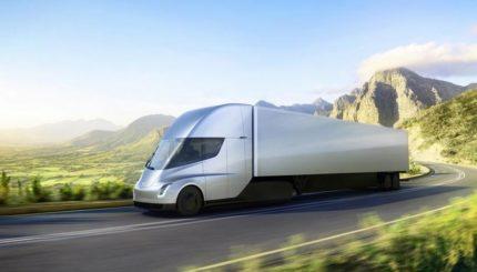 camion électrique Tesla